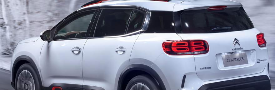 Nouveau Citroën C5Aircross: là au Mondial 2018, les infos [photos]