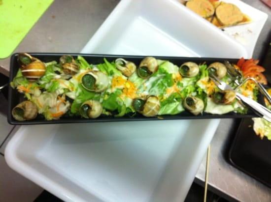 Entrée : Restaurant L'Ô à la Bouche  - Escargot de bourgogne  -