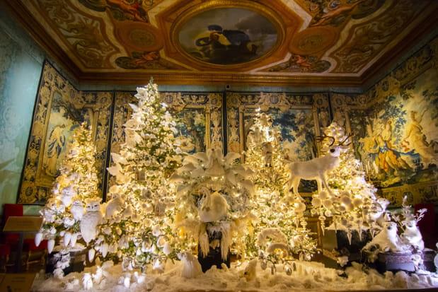 Coloriage Chateau Vaux Le Vicomte.Vaux Le Vicomte Fete Noel