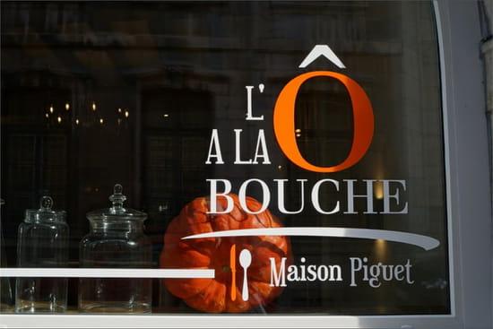 Restaurant : L'Ô à la bouche  - vitrine -   © DSC03370-min-min