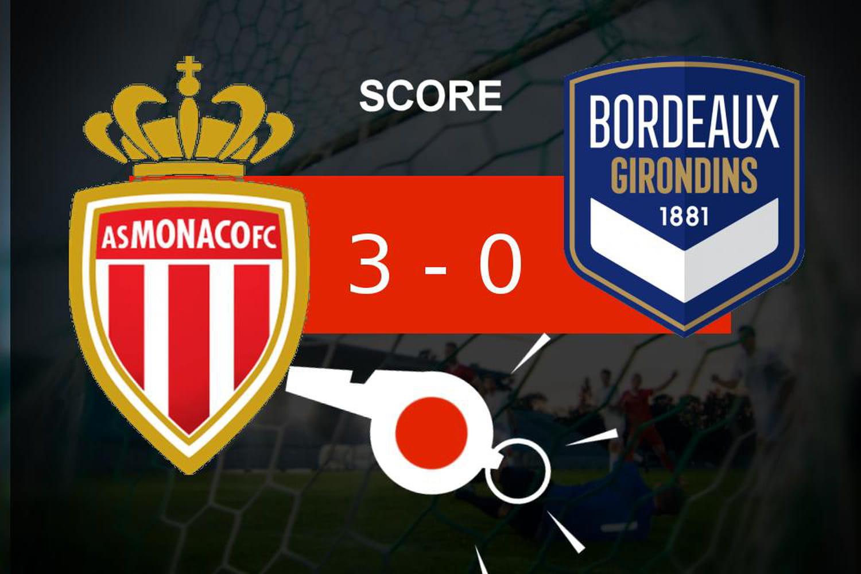 Monaco - Bordeaux: l'AS Monaco s'impose largement, le résumé du match