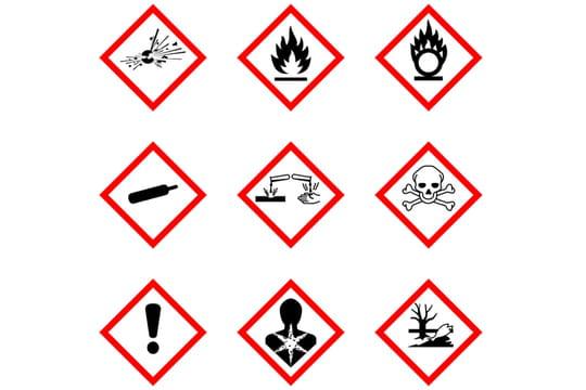 Pictogrammes de danger : les nouveaux signes à connaître