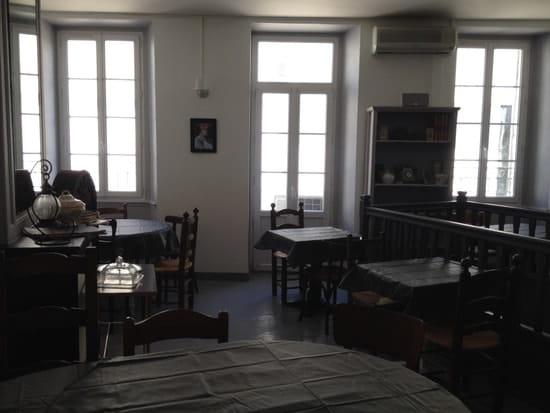 Au LR  - La salle privatisable au 1er étage -   © cc