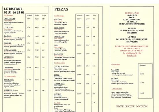 Le Bistrot  - pizzas -   © le bistrot