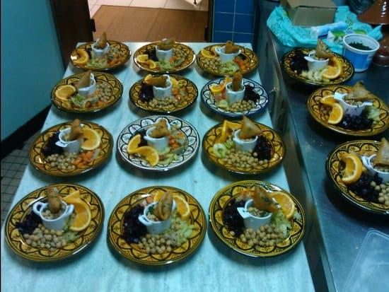 La Fourchette de Brion  - assiette marocaine -   © wakrim
