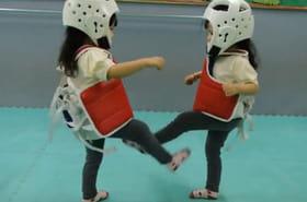 Le combat de Taekwondo le plus mignon au monde