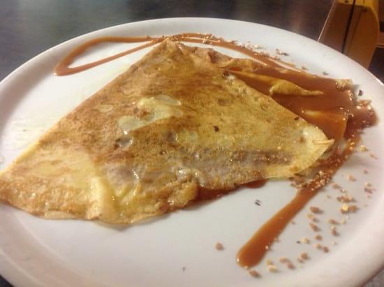 Dessert : Les Blés d'Or  - Crêpe au caramel au beurre salé maison! -