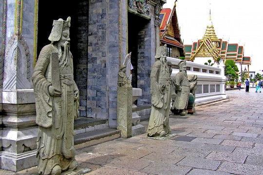 Les gardes du palais