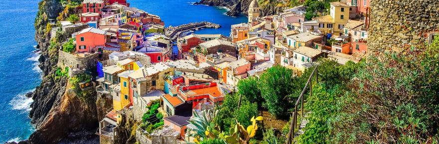 Escapade à flanc defalaises dans les Cinque Terre