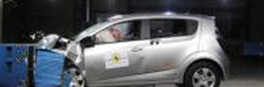 Crash-tests 2012 : les citadines les plus sûres
