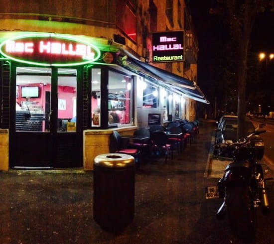 Restaurant : Mac-Hallal