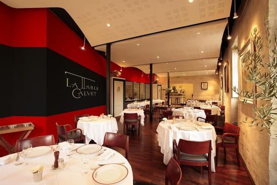 La Table Calvet  - Salle de restaurant -