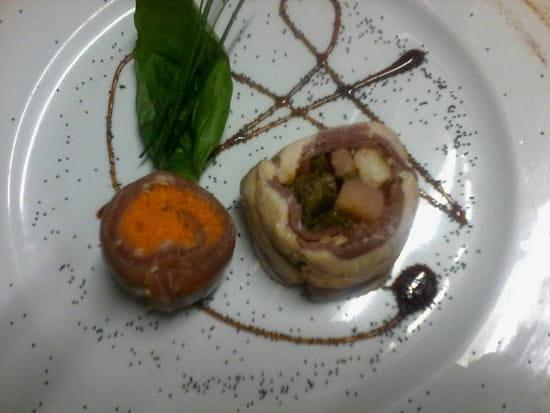 Entrée : L'Excellence  - Spirale de foie gras remoulade de céleri -