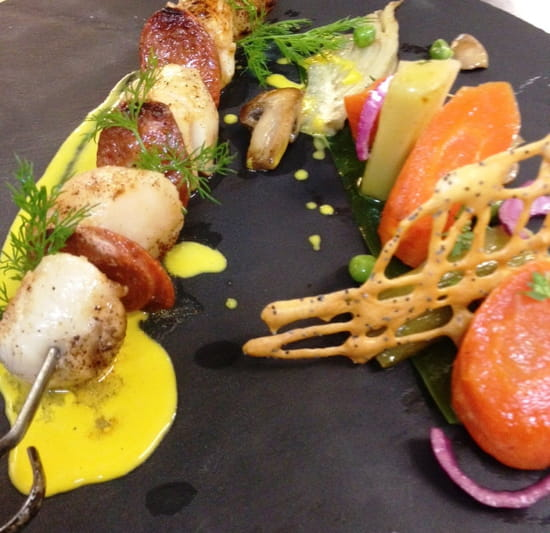 Restaurant des Grands Crus  - Cuisine faite maison, produits frais -   © Marianne Anciaux