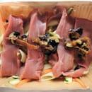 Vapeurs et Gourmandises  - Aiguillette de canard, olives vertes et noires, penne, petits légumes -