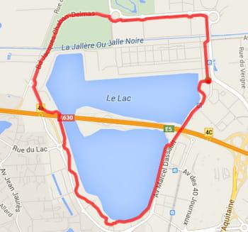 Bordeaux : le tour du Lac (7,1km)