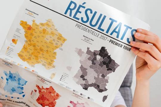 Carte des résultats aux législatives: tous les scores par département