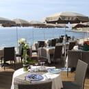 Vallauris Plage  - terrasse exterieure -