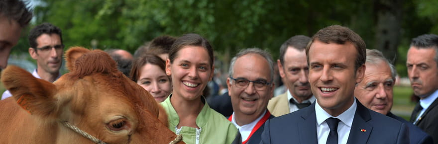 Emmanuel Macron attendu pour l'inauguration du salon de l'Agriculture
