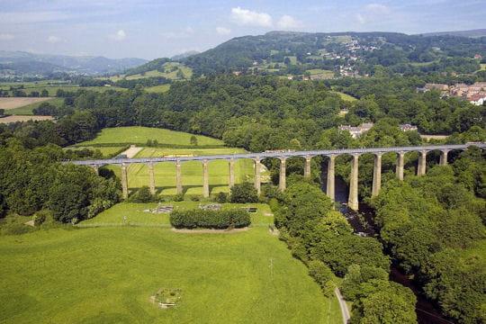 Le canal de Pontcysylte et son aqueduc