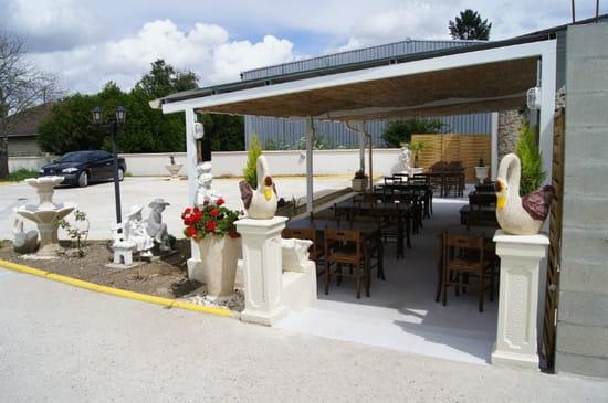 Restaurant La Braise  - Terrasse  -   © restaurant la Braise