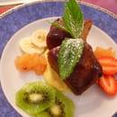Auberge de Bel Air  - baba aux fruits frais -   © yveric