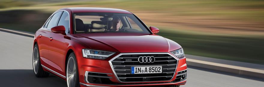 Nouvelle Audi A8: les premières photos et infos