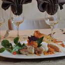 Le Carrousel  - méli mélo de poissons à la crème d'étrilles -