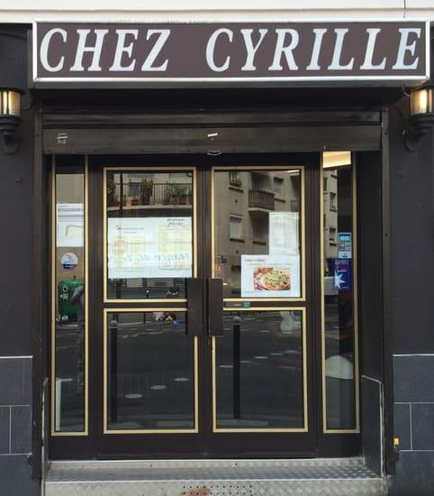 Chez Cyrille  - devanture -   © Stéphane