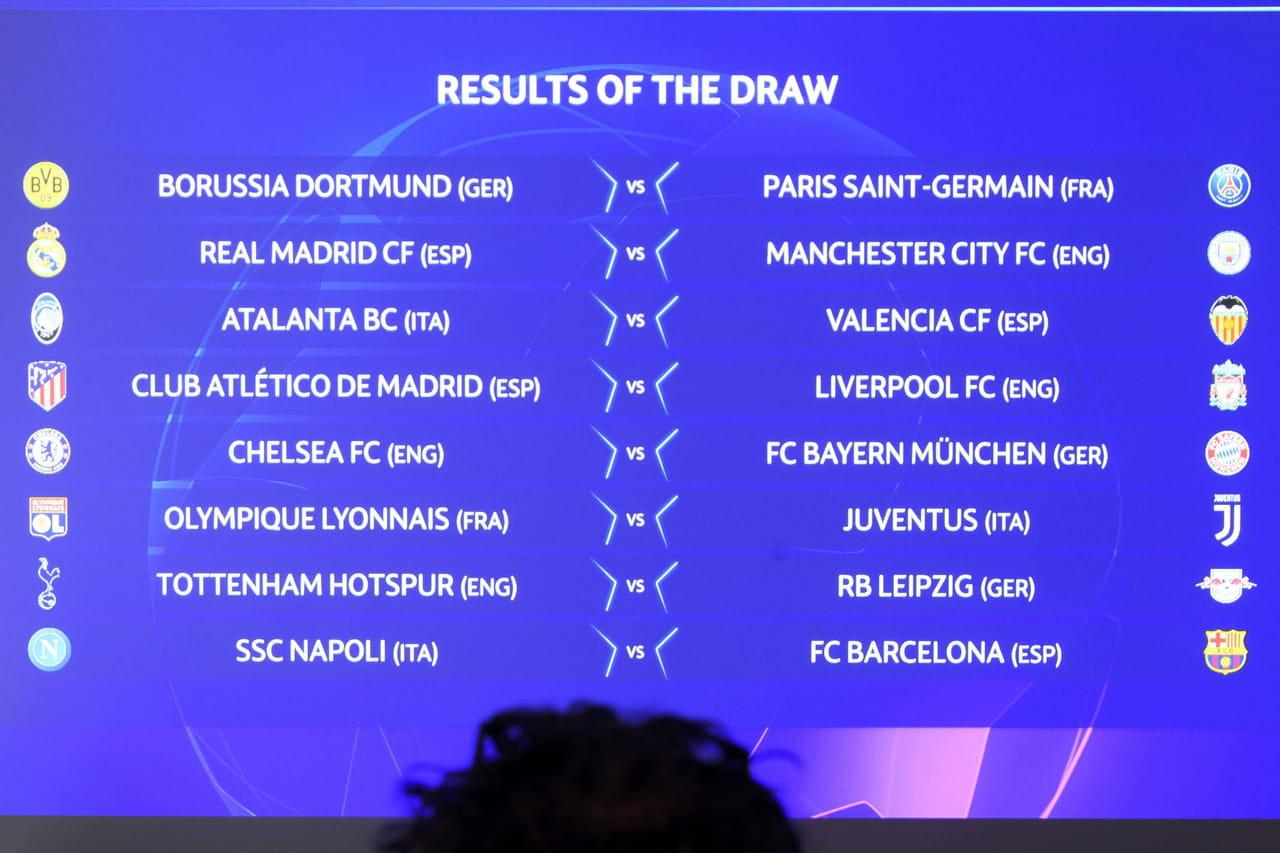 Ligue des champions: après le tirage, quels favoris en 8ème de finale?