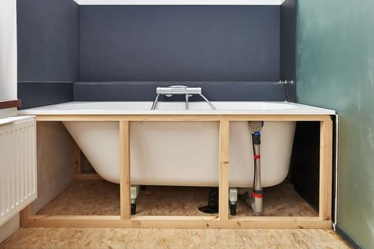Installer une baignoire: marche à suivre