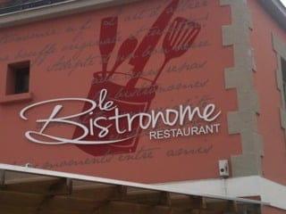 Restaurant : Le Bistronome  - En arrivant de Nantes dans le bourg juste avant le rond point sur la gauche !!! -