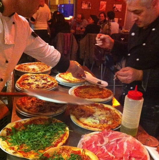 Plat : Fellini  - Pizza !!!! -