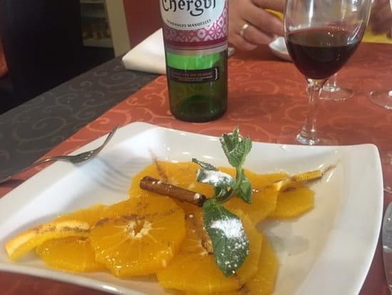 Dessert : La Baraka  - Salade d'orange à la cannelle... -