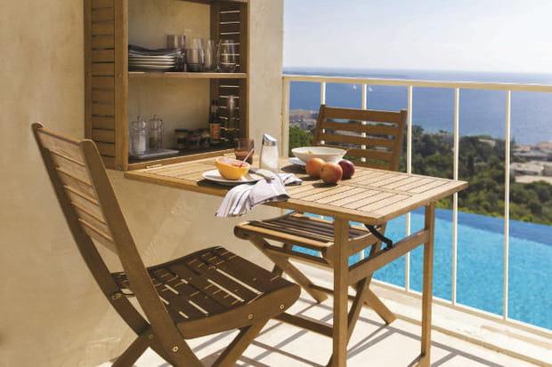 mobilier de balcon aland. Black Bedroom Furniture Sets. Home Design Ideas