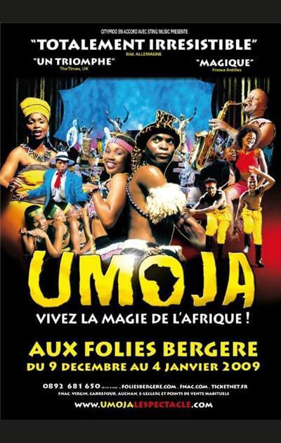 Umoja aux Folies Bergère à Paris