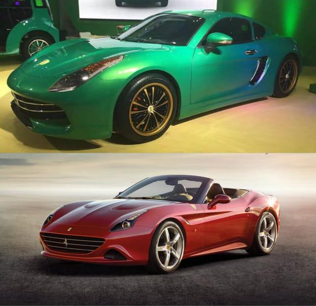 Le Meilleur Suv >> Suzhou Eagle Carrie / Ferrari California T