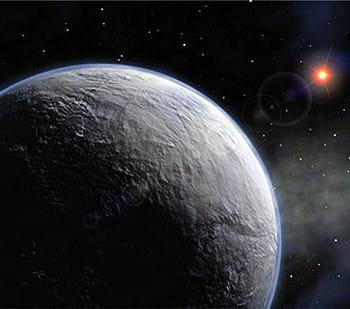 elle est l'une des plus petites planètes extrasolaires jamais observées.