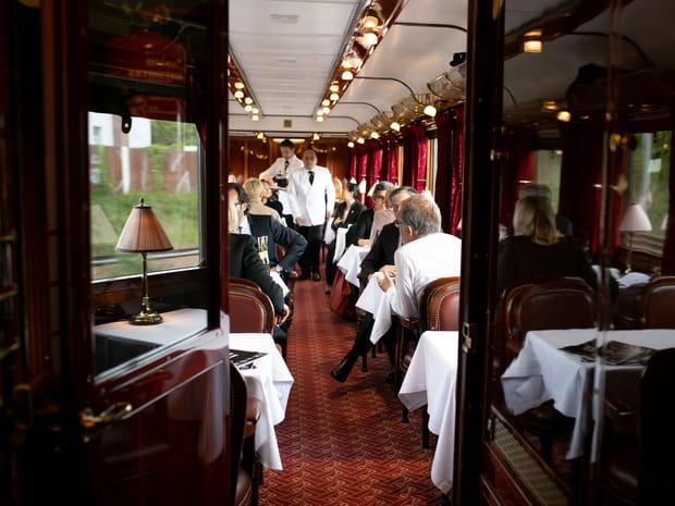 Les images des wagons de l'Orient Express restaurés