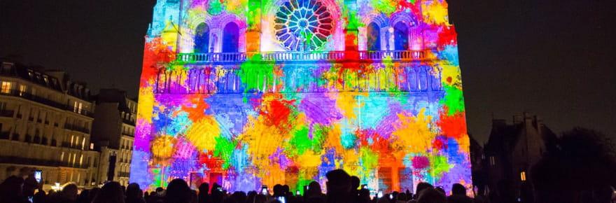 Dame de Cœur, le spectacle haut en couleurs de Notre-Dame de Paris