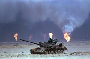 Puits de pétrole de la guerre du Golfe