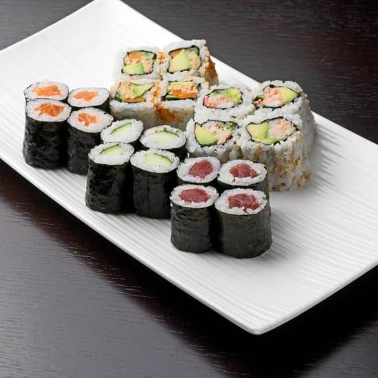 Tai Shogun  - Assiette de sushis -   © Tai Shogun