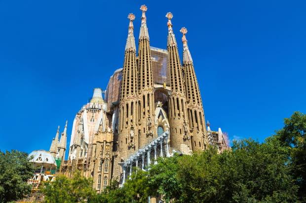 La Sagrada Familia, à Barcelone