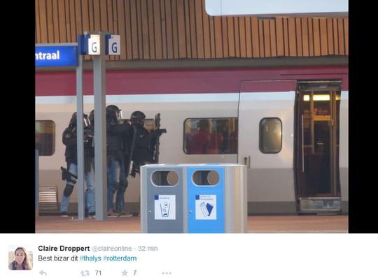 Gare de Rotterdam Central : crainte d'attentat dans un Thalys, le suspect arrêté
