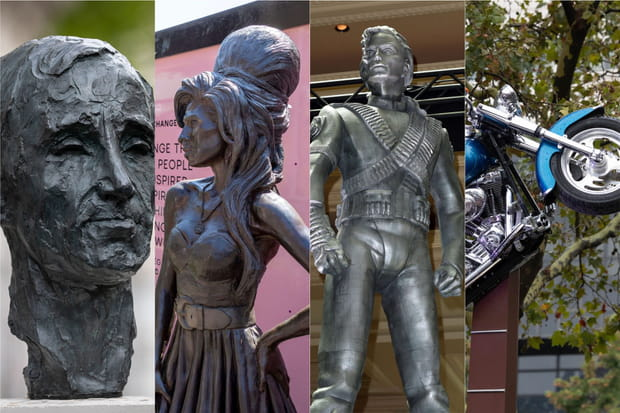Les statues de chanteurs les plus célèbres