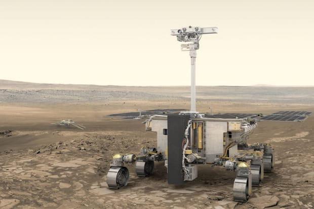 Rover Rosalind Franklin: de la découverte de l'ADN à la recherche de la vie sur Mars