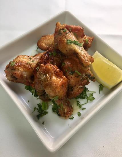 Restaurant : Le Cèdre  - Le Cedre restaurant libanais a Nice ails poulet -   © le cedre restaurant nice