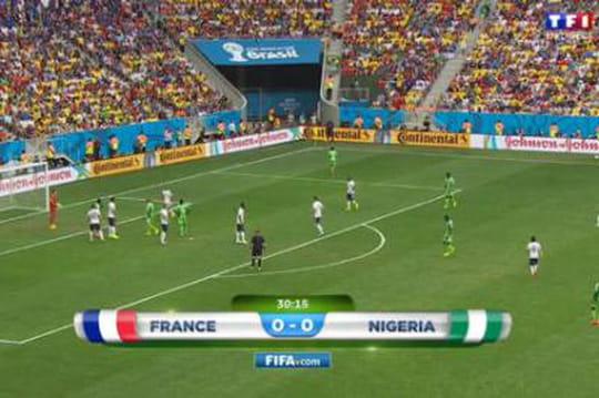 France - Nigeria: le score du match