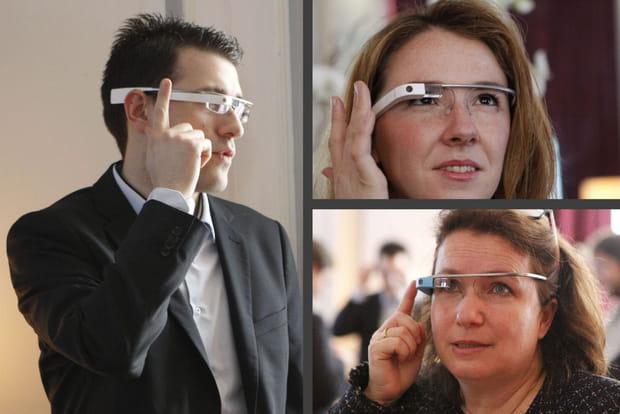Les services bancaires sur Google Glass