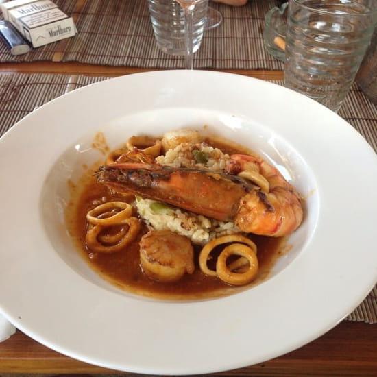 Plat : L'Onda  - Risotto fruits de mer -